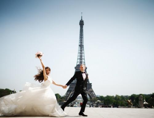 Viaggio di nozze in Europa durante la bella stagione