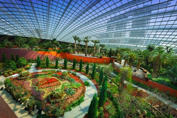 Flower dome vacanze a singapore