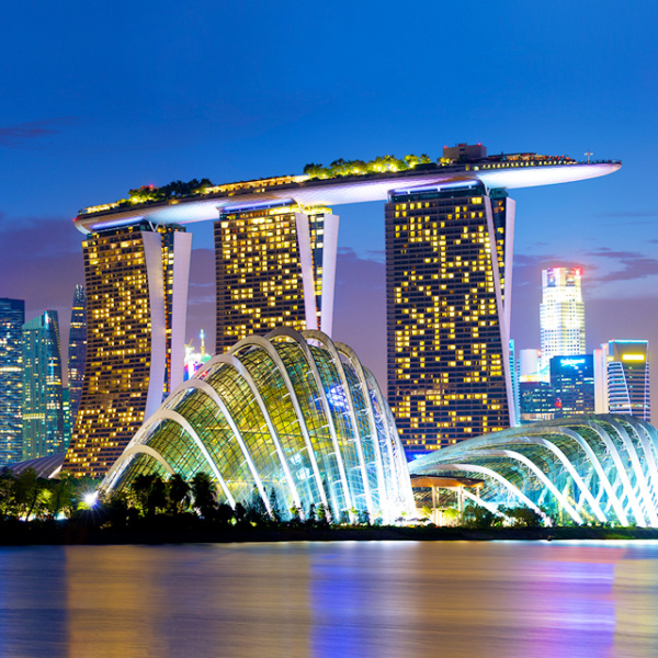 Marina Bay singapore viaggio