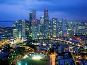 Singapore by night 1
