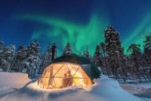 Glamping viaggio in Finlandia
