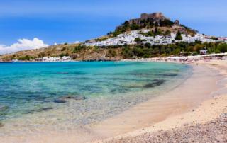 rodi lindos estate in grecia