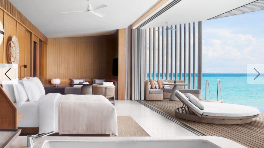 nuovo resort alle maldive