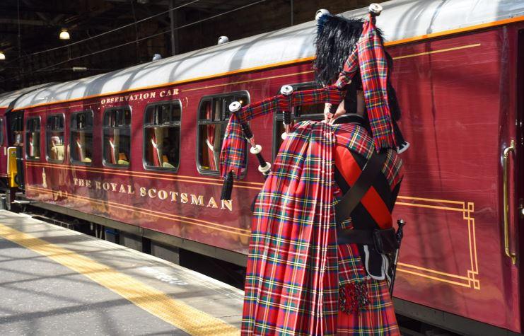 luna di miele in treno royal scotsman