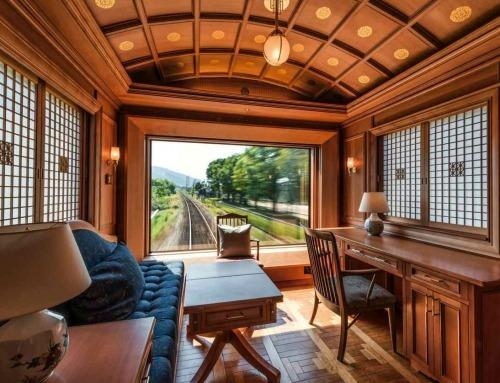 Vivere l'esperienza di una crociera in treno su un'isola giapponese